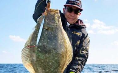 【福岡】沖のルアー最新釣果 ジギングで大型ヒラメ&寒ブリ好機到来