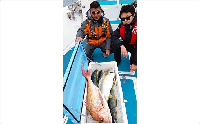 【福岡】落とし込み釣り最新釣果 終盤戦でも大型ヒラマサ含み好調継続