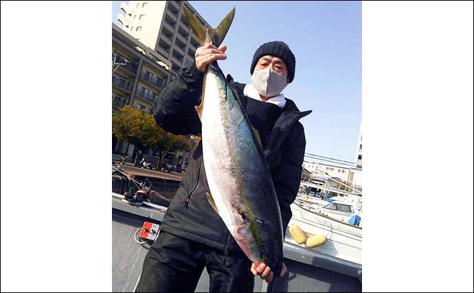 【玄界灘】沖釣り最新釣果 電動ジギングで特大「12.4kg」寒ブリ登場