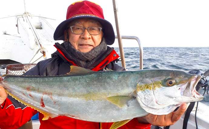 【玄海灘】落とし込み釣り最新釣果 大型「アラ」浮上に青物は続々