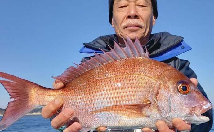 今日ナニ釣れた?沖釣り速報:「ヤリイカ」が大型主体にノリノリ【関東】