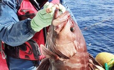 【福岡】沖のエサ釣り最新釣果 5kg級「タカバ」に良型「アマダイ」好調