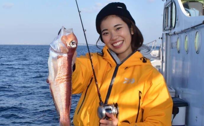 相模湾「アマダイ」釣りが好調 絶品釣果レシピ3選も紹介【まなぶ丸】