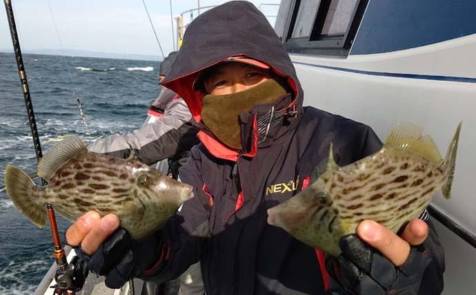 【大分・熊本】沖釣り最新釣果 テンヤ&タイラバでマダイ数釣り好機
