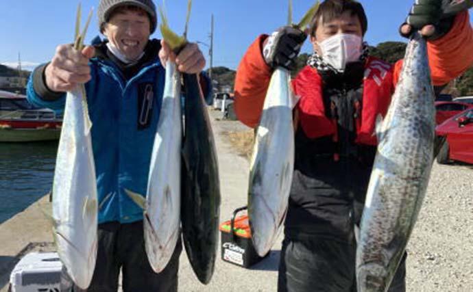 【愛知・三重】オフショアルアー最新釣果 エギングで2.25kgアオリ浮上