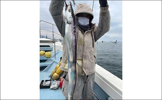 【大分・熊本】沖釣り最新釣果 タチウオが数・型ともに好調継続中