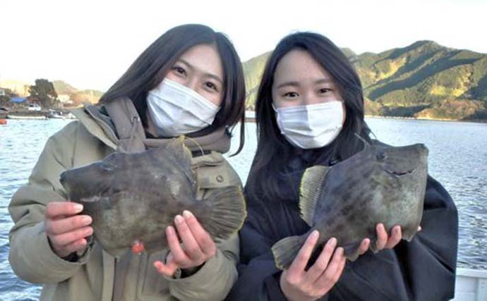 【愛知・三重】沖釣り最新釣果 カワハギにブリにサワラと冬の旬が続々