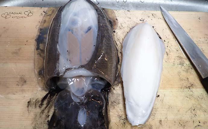 【釣果レシピ】コウイカの「イカスミパスタ」 持ち帰り方にはご注意を
