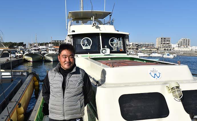 相模湾「カワハギ」釣りで良型28cm頭に2人で17尾【まごうの丸】