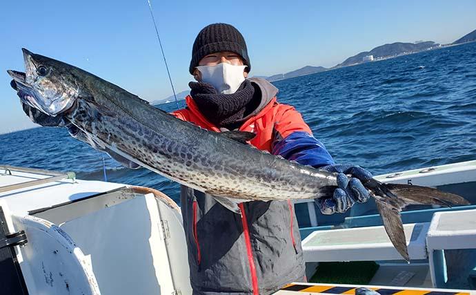 【愛知】沖のエサ釣り最新釣果 ハゼの泳がせ釣りでジャンボヒラメ浮上