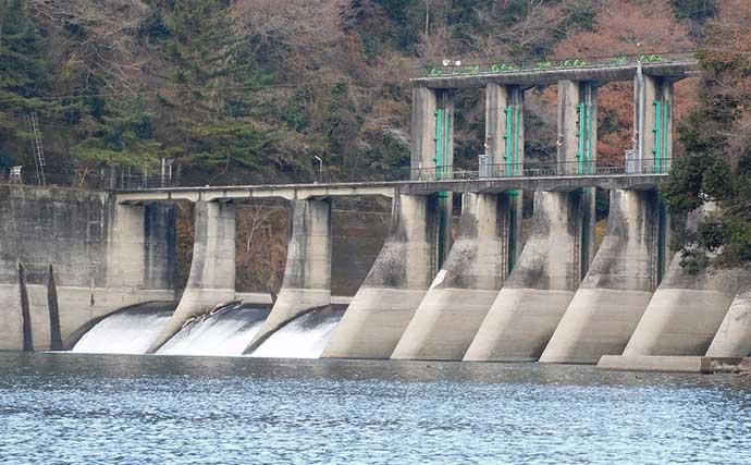 【津久井湖2021】大型ワカサギ攻略法6選 ダム放水時がチャンスタイム?