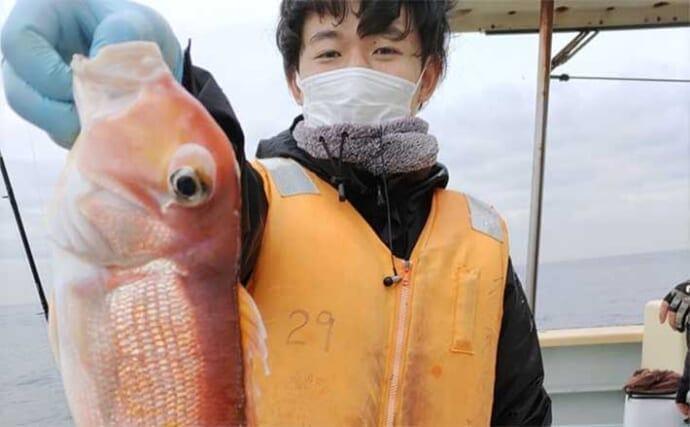 昨日今日ナニ釣れた?沖釣り速報:相模湾で大型アマダイ顔見せ中【関東】