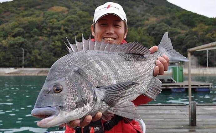【和歌山2021】由良糸谷の『筏チヌ釣り』攻略法 冬は大型狙いの好機