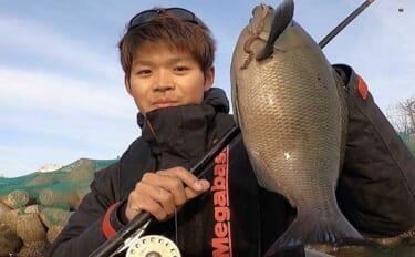 【東海2021】『ボートフカセ釣り』で寒グレを攻略 まきエサは不要?