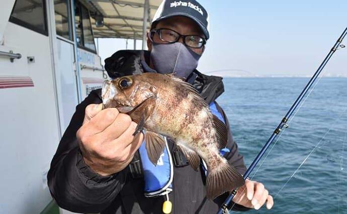 大阪湾の春告魚メバル釣りが好スタート 5m級の長竿を使うワケとは?