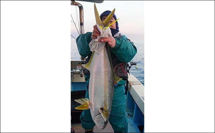 【福岡】落とし込み最新釣果 大型『チカメキントキ』入れ食いで約50尾