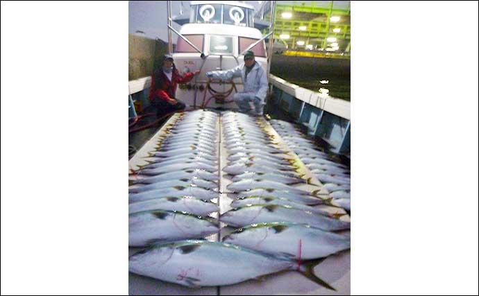 【福岡】沖のルアー最新釣果 キャスティングで13kg超『ヒラマサ』降臨