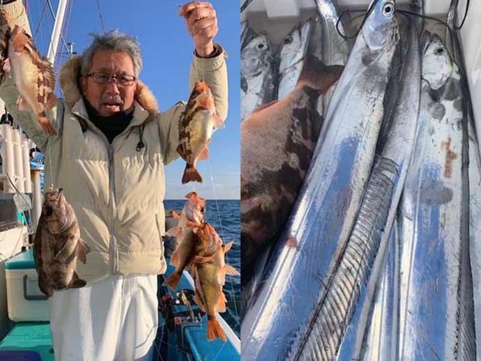週末ナニ釣れた?沖釣り速報:内房の「ヤリイカ」が釣果安定【関東】