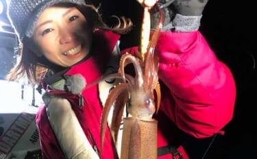 『メタルスッテ』でヤリ・スルメ・ケンサキのイカ御三家大爆釣【三重】