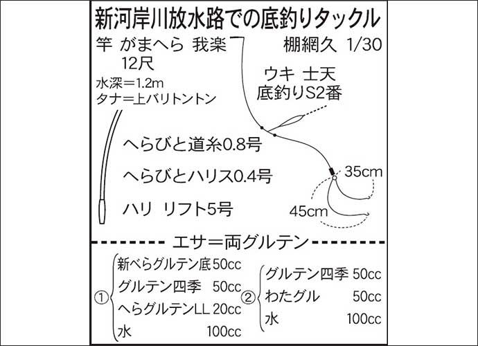 今週の推薦ヘラブナ釣り場【埼玉・新河岸川放水路】