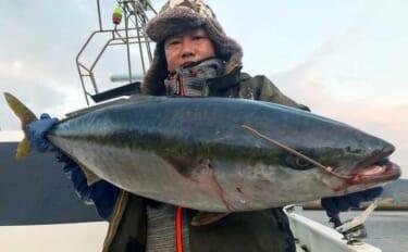 【福岡】沖のルアー最新釣果 10kg超え含み「寒ブリ」ジギング絶好調