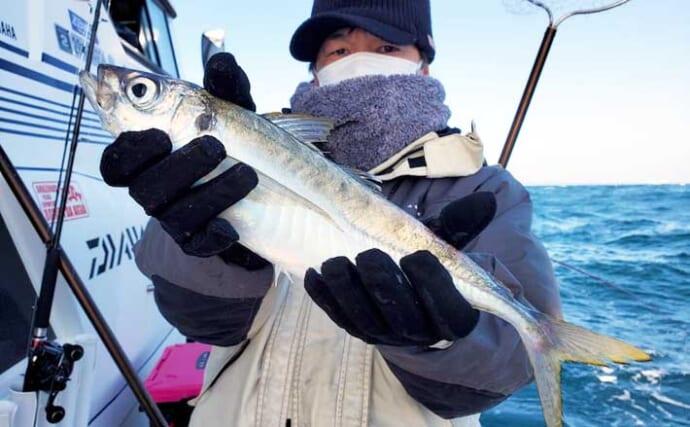 【大分・熊本】沖釣り最新釣果 大型のブランドアジ&サバでお土産充実