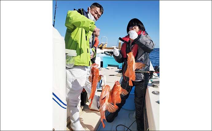 【福岡】沖のエサ釣り最新釣果 五目釣りでアマダイなど「美味魚」続々