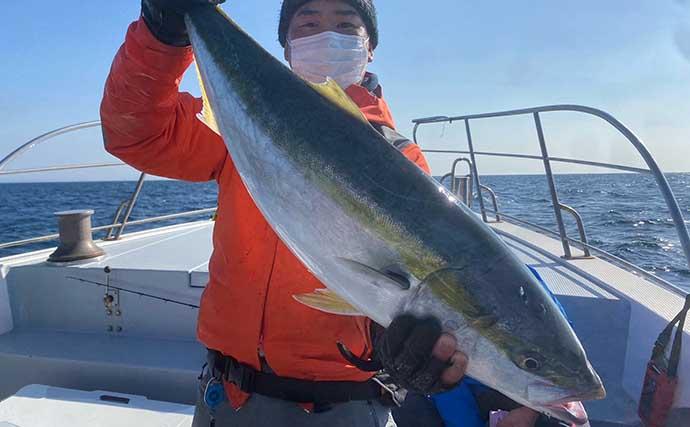 【玄界灘】沖のルアー最新釣果 ジギングで船中「寒ブリ」100尾オーバー