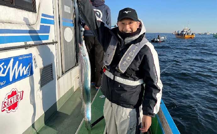 東京湾で「タチウオ」釣りで初心者だけが釣れた理由とは?【いわた丸】