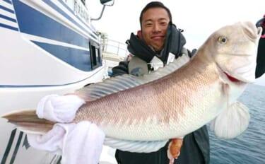 【熊本・大分】沖のエサ釣り最新釣果 超高級魚2.9kg『シロアマダイ』