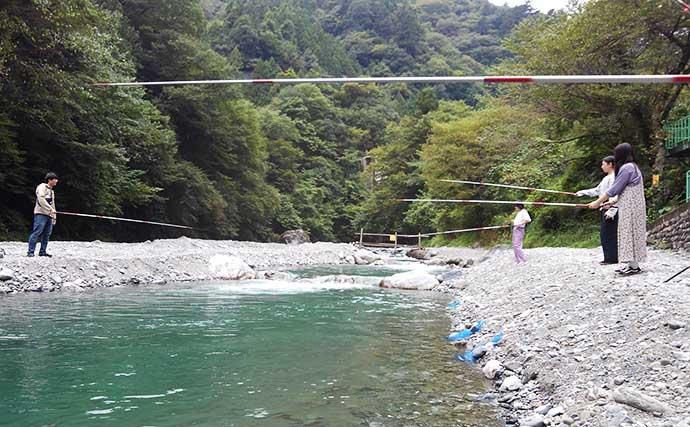 東京都多摩エリアで淡水小物釣りを楽しもう:シーズン&代表的ターゲット
