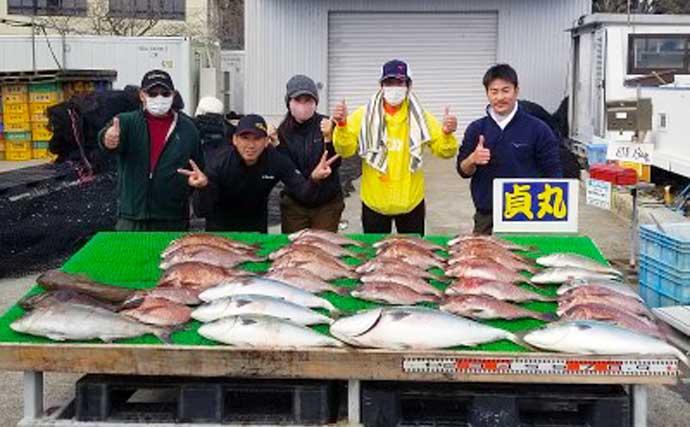 【三重・愛知】海上釣り堀最新釣果 シマアジなど高級魚を狙いに行こう