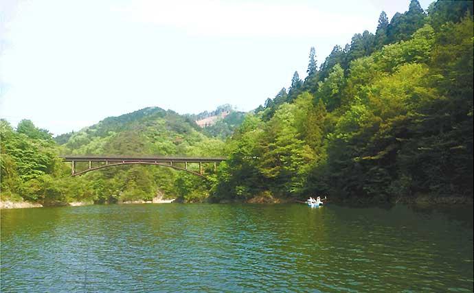 ボートトラウトゲームのススメ 70cm超の大型も狙える【東古屋湖】