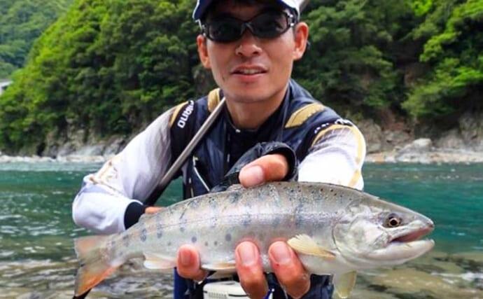 【2021九州】ミャク釣りで渓魚に挑戦 ポイント・仕掛け扱い・取り込み