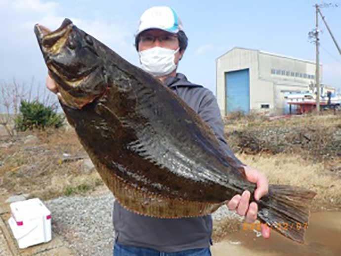 【愛知】沖のエサ釣り最新釣果 イワシの泳がせ好調で大型ヒラメにブリ
