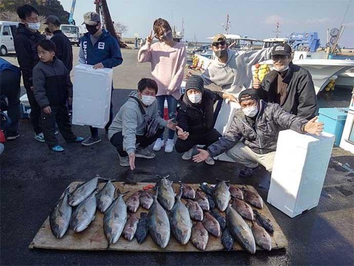 週末ナニ釣れた? 沖釣り速報:東京湾の春マダイ気配アリ【関東】
