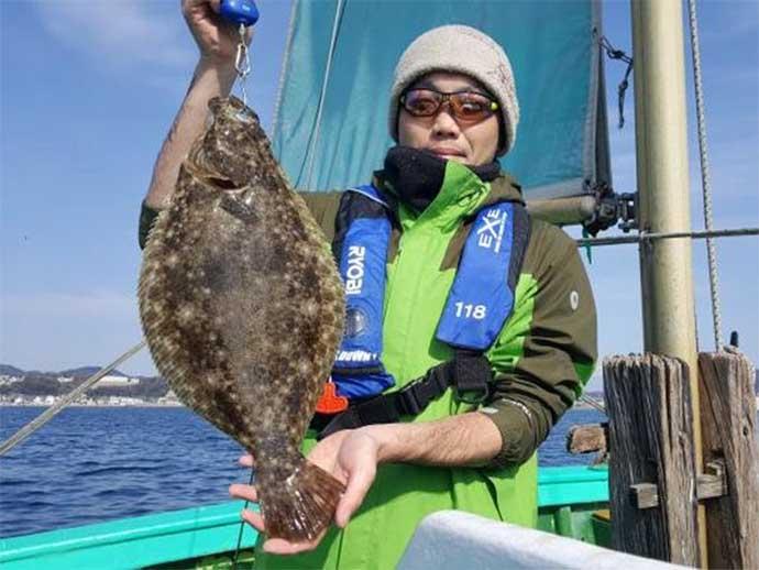週末ナニ釣れた?沖釣り速報:剣崎沖で50cm超アマダイ堂々浮上【関東】