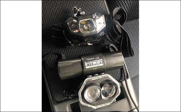 釣り用ライトの基礎知識:チェストライトとヘッドライトの長所短所