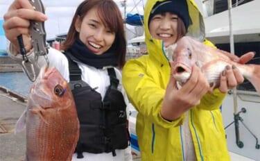 昨日と今日ナニ釣れた?沖釣り速報:各地で春マダイ調子上向き【関東】