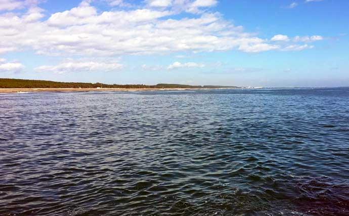 青森県陸っぱり好釣り場:淋代突堤 青物狙いの代表的ポイント