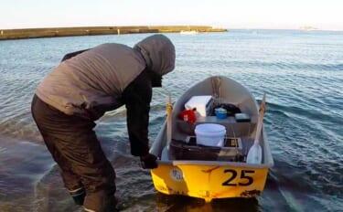 【葉山沖2021春】手こぎボートで乗っ込みマダイ攻略 潮変わりが好機?