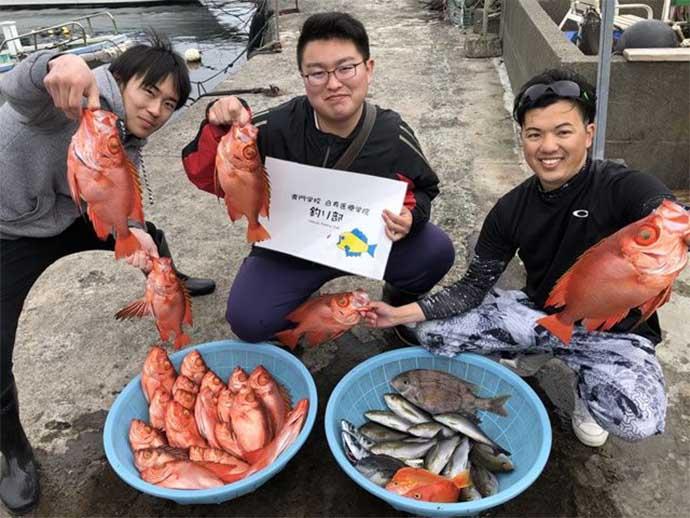 今日ナニ釣れた?沖釣り速報:ヌルヌル魚代表「メダイ」絶好調【関東】