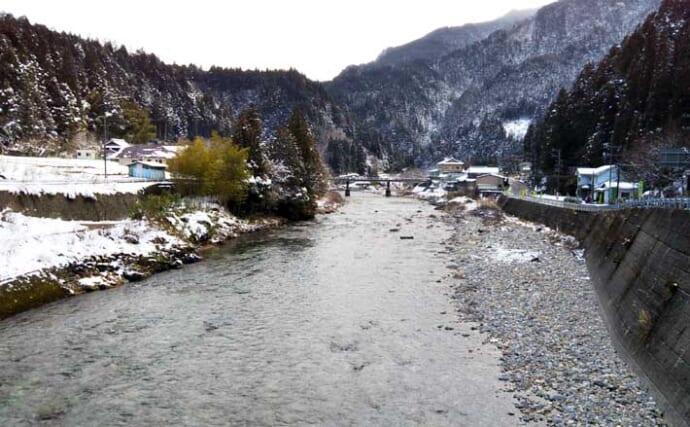 【中部2021】おすすめ渓流釣り場:板取川上流 幅広天然アマゴが狙い目