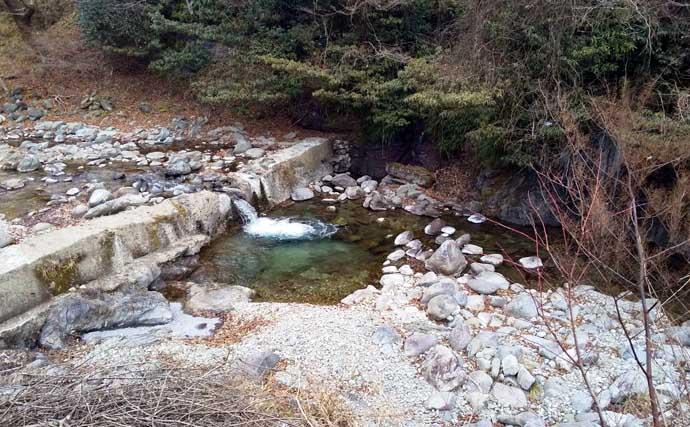 【中部2021】おすすめ渓流釣り場:月出川 初期からヒレピンが狙える
