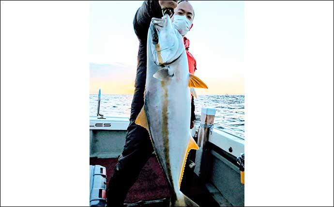 【福岡】沖のルアー最新釣果 ジギングで13kg頭に寒ブリラッシュ