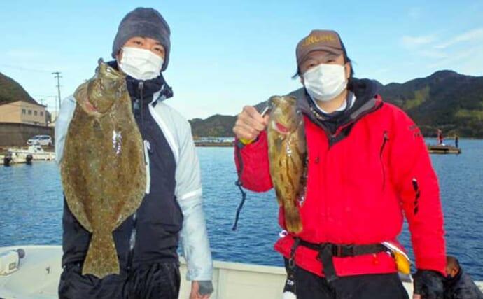 【愛知・三重】沖のエサ釣り最新釣果 レンタルボートでヒラメにハタ