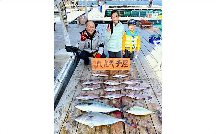 【三重・愛知】海上釣堀最新釣果 子供と一緒に高級魚ゲットはいかが?