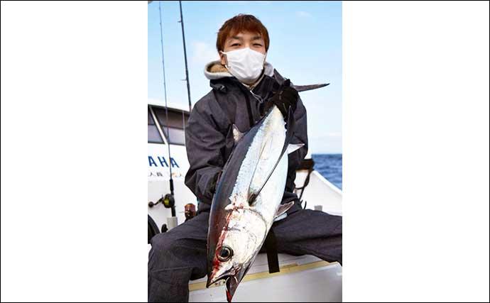 【三重・愛知】沖のルアー最新釣果 好調トンジギは初挑戦者も本命手中