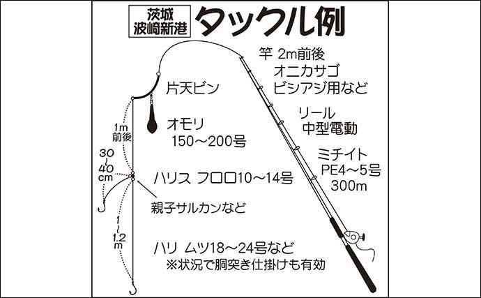 【関東2021】中深場釣りが面白い 各エリアの釣況と釣り方基本