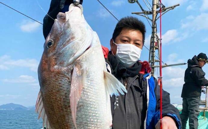 【福岡】沖のルアー最新釣果 ジギングで大型マダイ浮上に青物数釣りも
